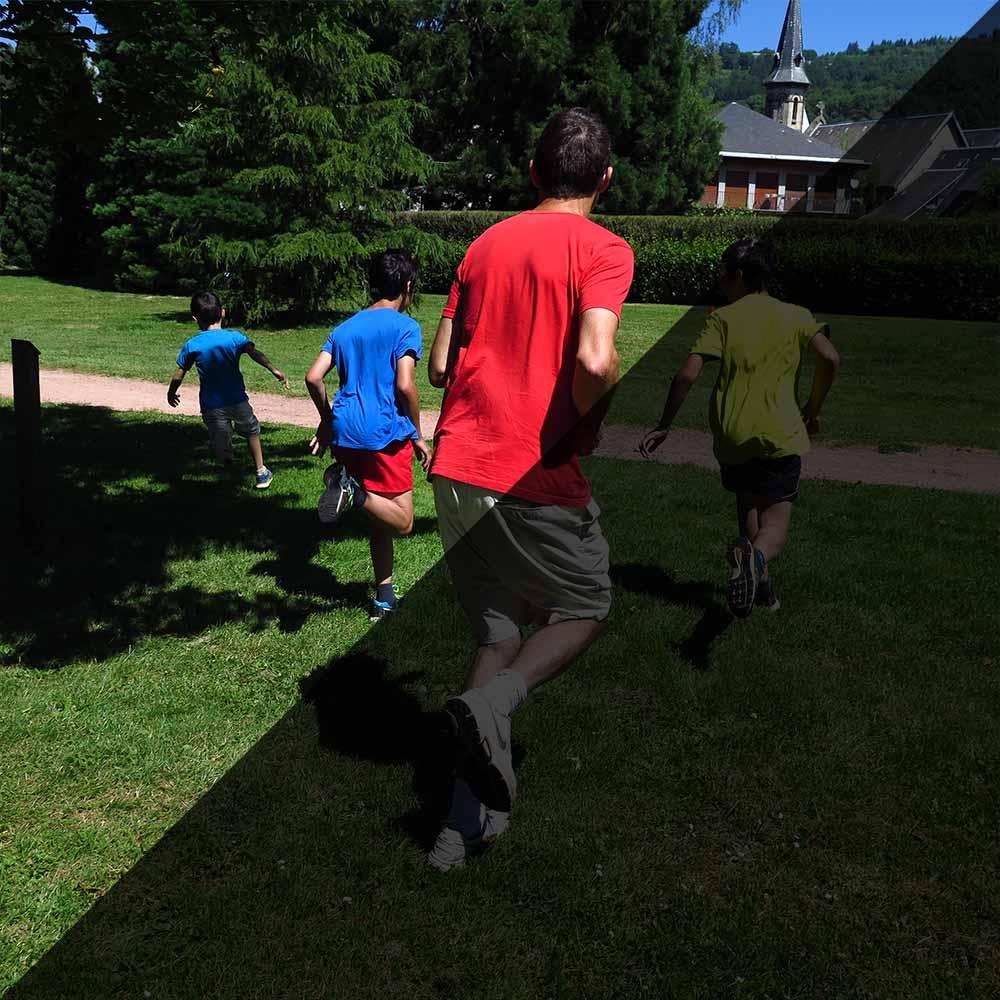 Pédagogique, le biathlon loisir pour les structures de vacances