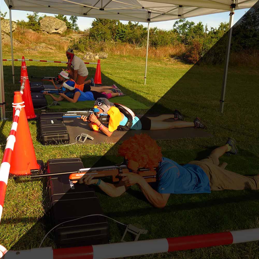 Surprenant, le biathlon loisir pour particuliers