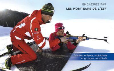 Biathlon Attitude à Super Besse pendant les vacances de Noël