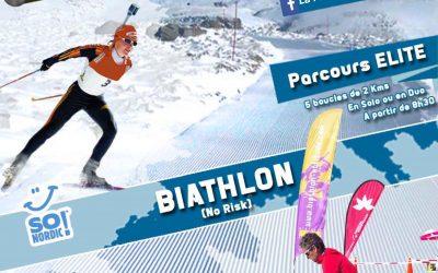 Participez à l'événement Planézarde Biathlon le dimanche 4 mars prochain à Prat-de-Bouc (15)