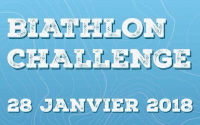 Inscrivez-vous au Biathlon Challenge de Cap Guéry le 28 janvier 2018