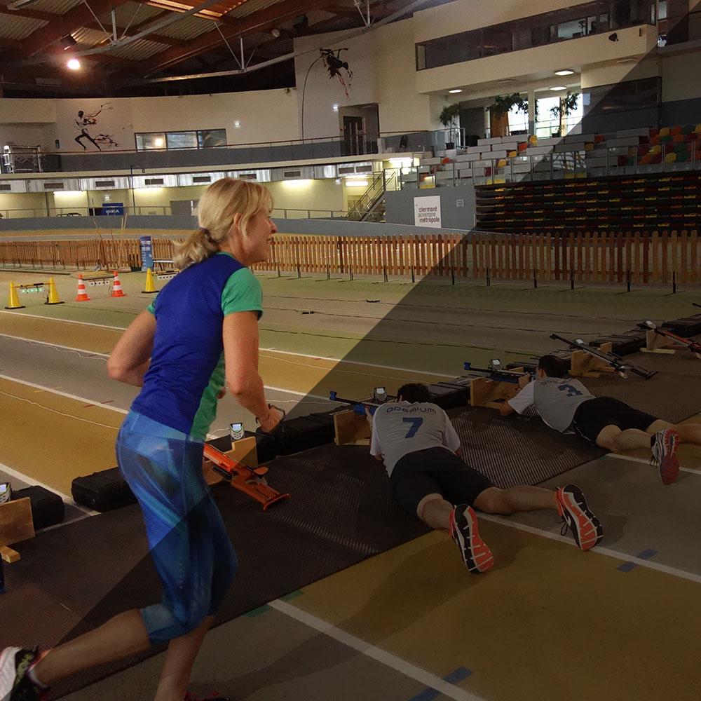 Possibilité de progresser, le biathlon pour organisateurs sportifs et entraîneurs de clubs