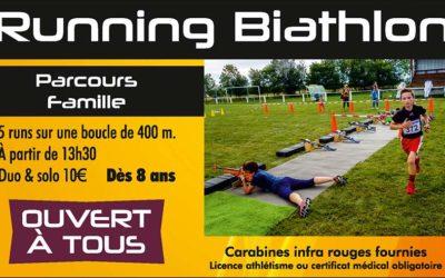 La Planézarde, biathlon/running le 15 septembre 2019